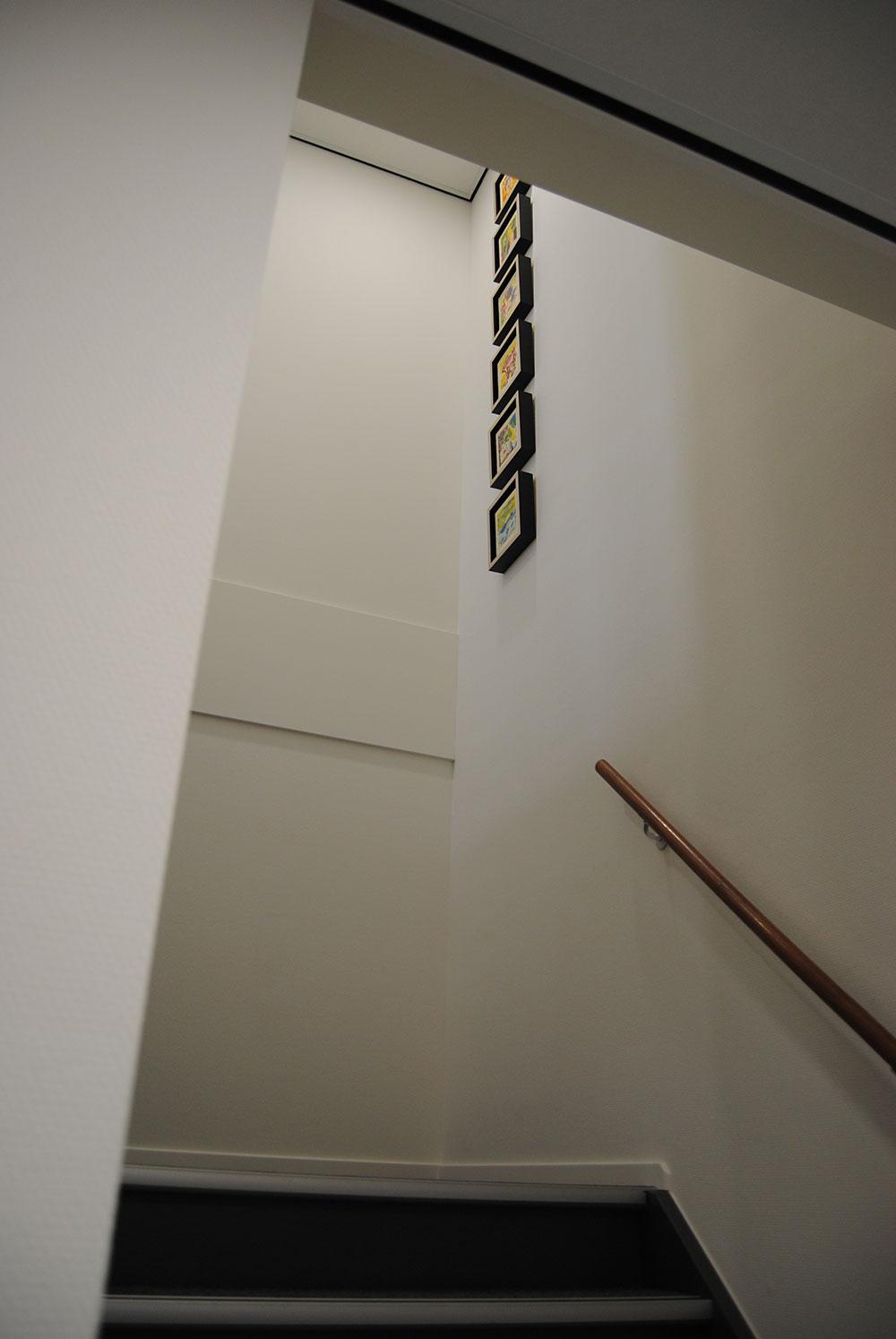 Heavac: Nieuwbouw bedrijfspand te Nuenen Schilderwerk, behang en glaswand panelen.