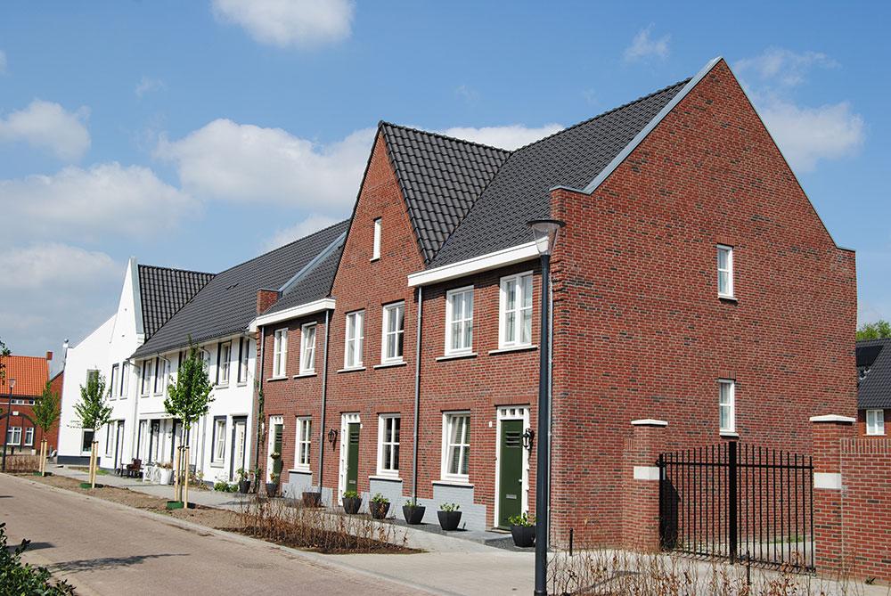 Bogaerdhoeve: Schilderwerk nieuwbouw woningen