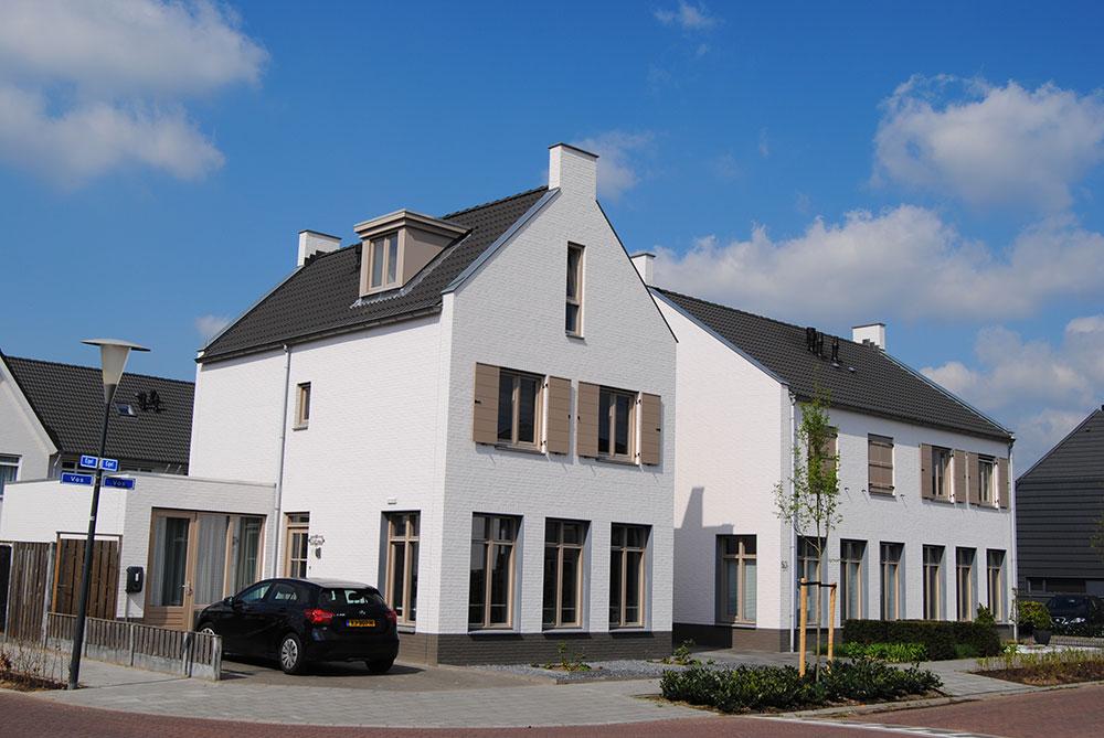 De Reegel: Schilderwerk nieuwbouw woningen