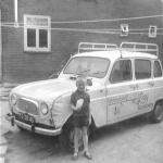 Neel bij bedrijfsauto 1968